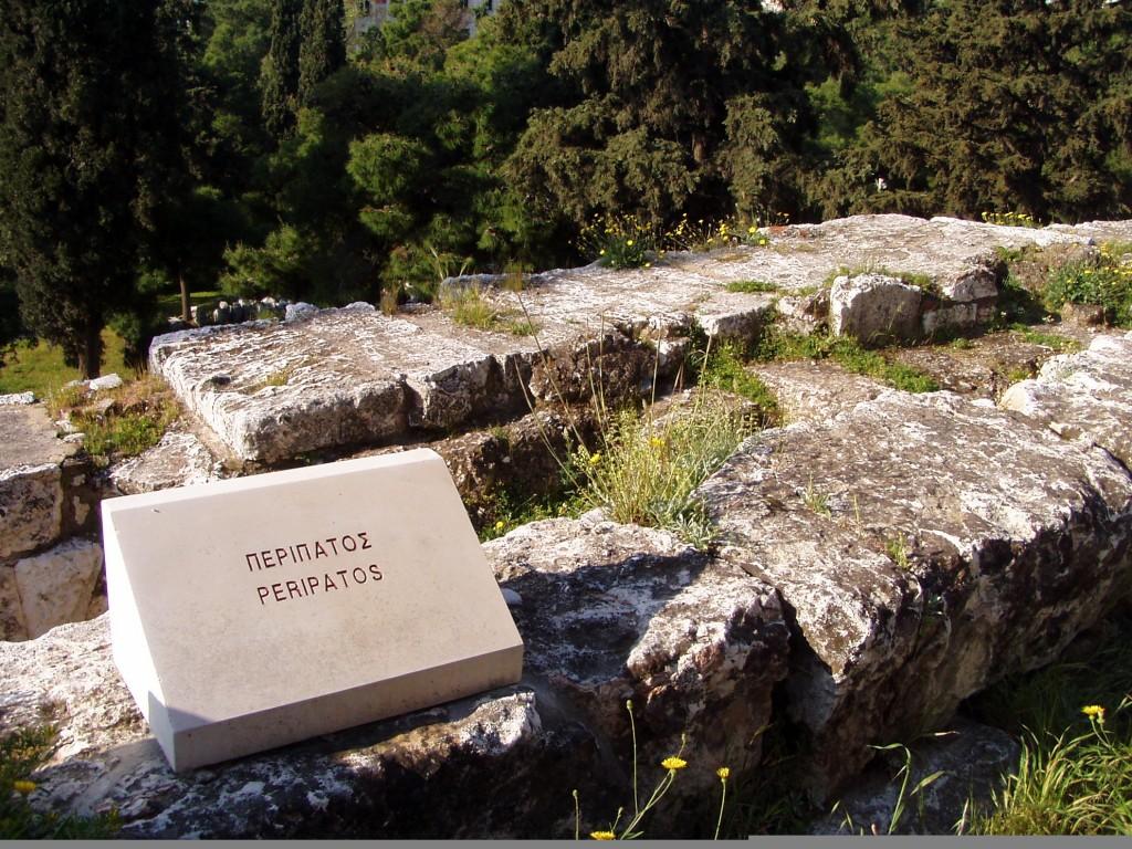 Peripatos - berühmte griechische Philosophenschule